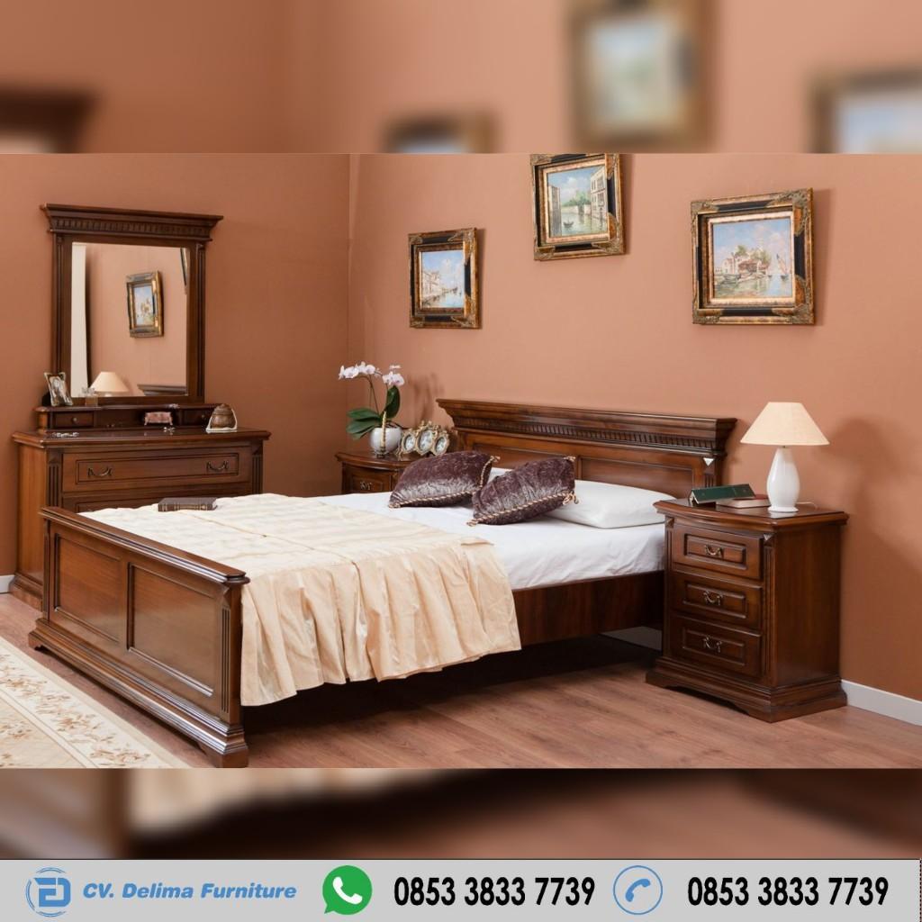 Set Kamar Tidur Natural Minimalis Jepara