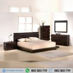 Set Kamar Tidur Pendek Jati Minimalis