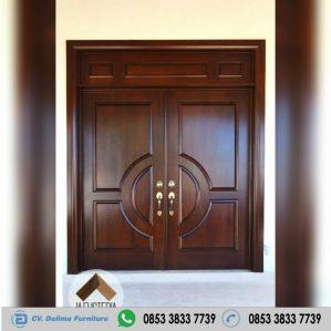 Pintu Rumah Kupu Tarung Jati Jepara
